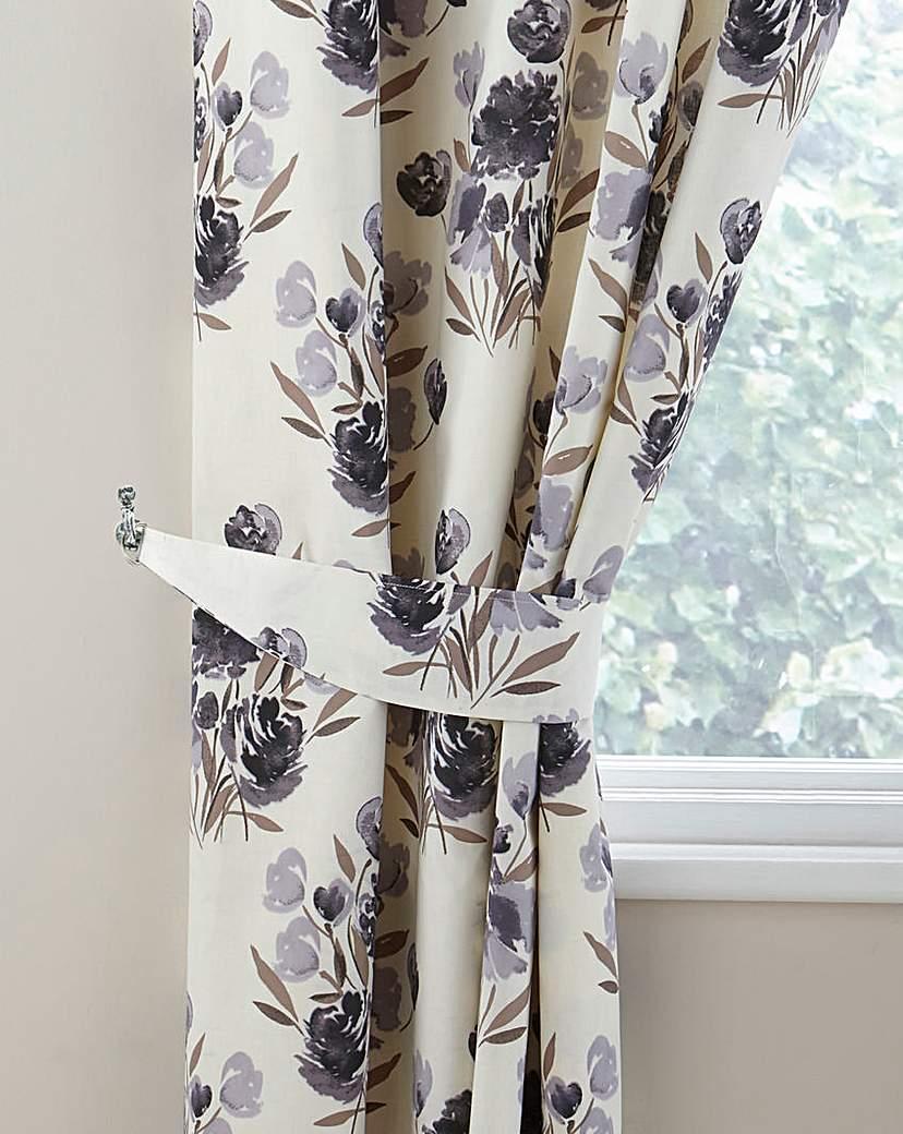Image of Camilla Printed Floral Curtain Tiebacks