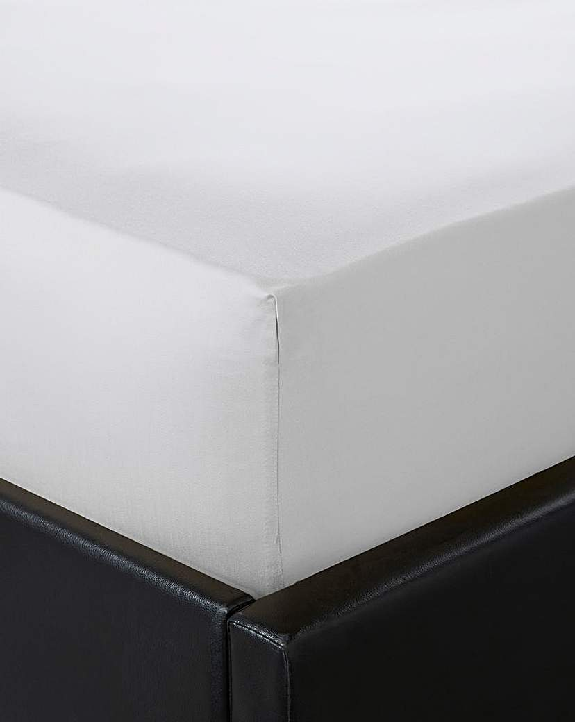 Image of Hotel Collection 400T Sateen Flat Sheet