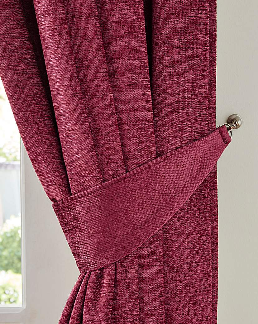 Sara Chenille Tie-Backs