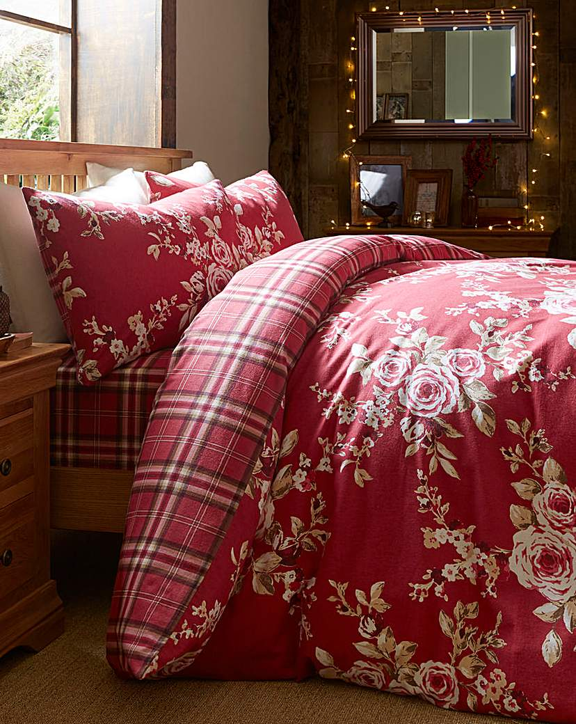 Image of Canterbury Brush Cotton Duvet Cover Set
