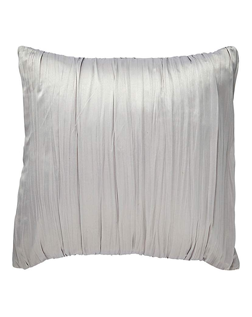 Birch Rouched Filled Square Cushion