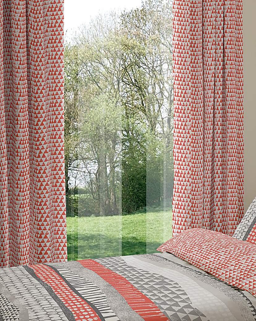Image of Harley Eyelet Lined Curtains