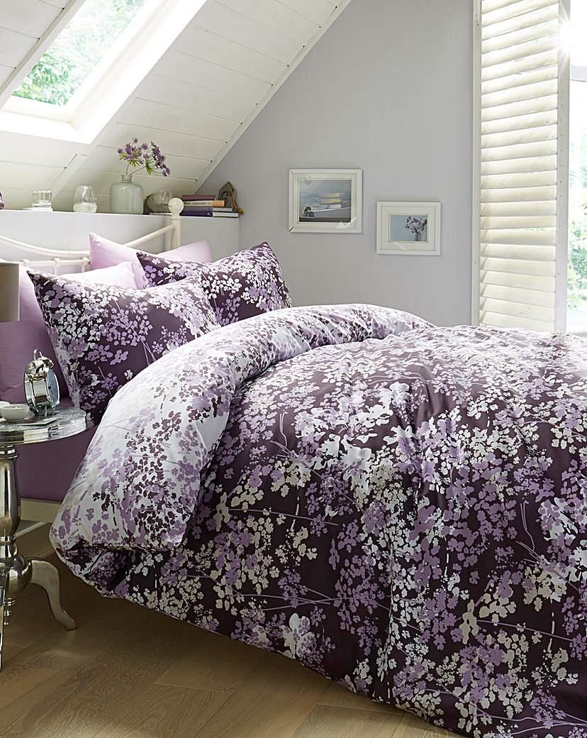 Image of Blossom Printed Duvet Cover Set