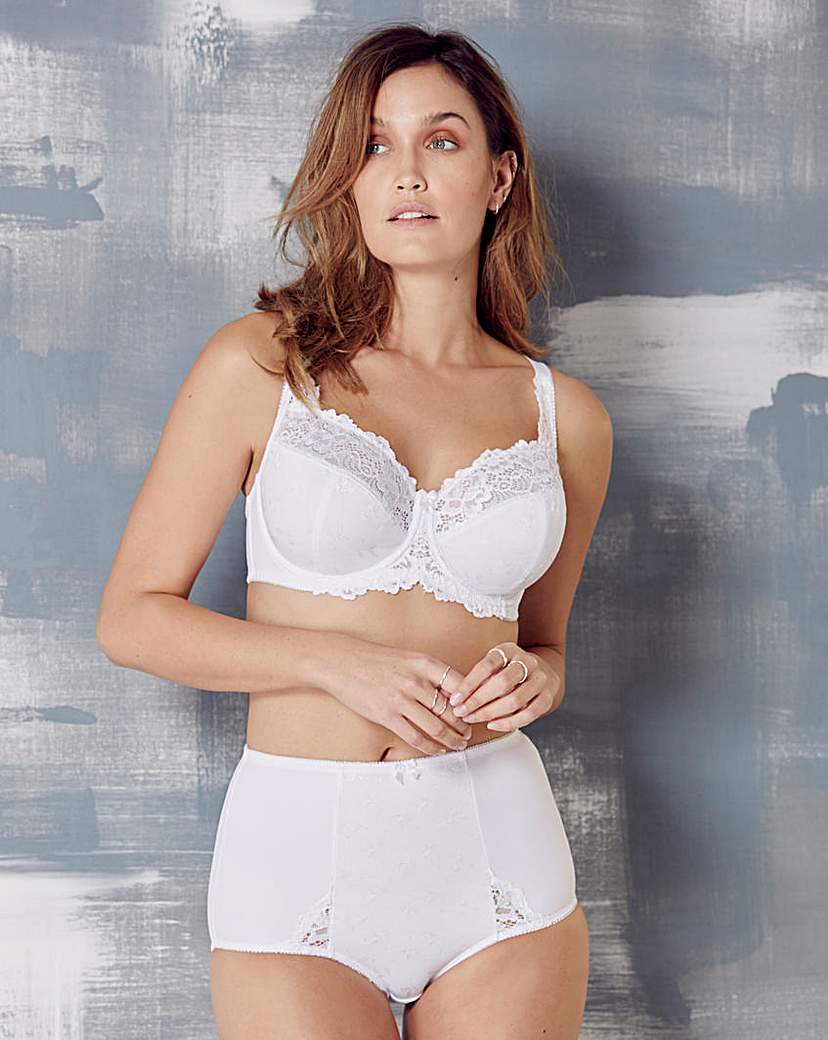 Bras Ruby Full Cup Wired White Bra