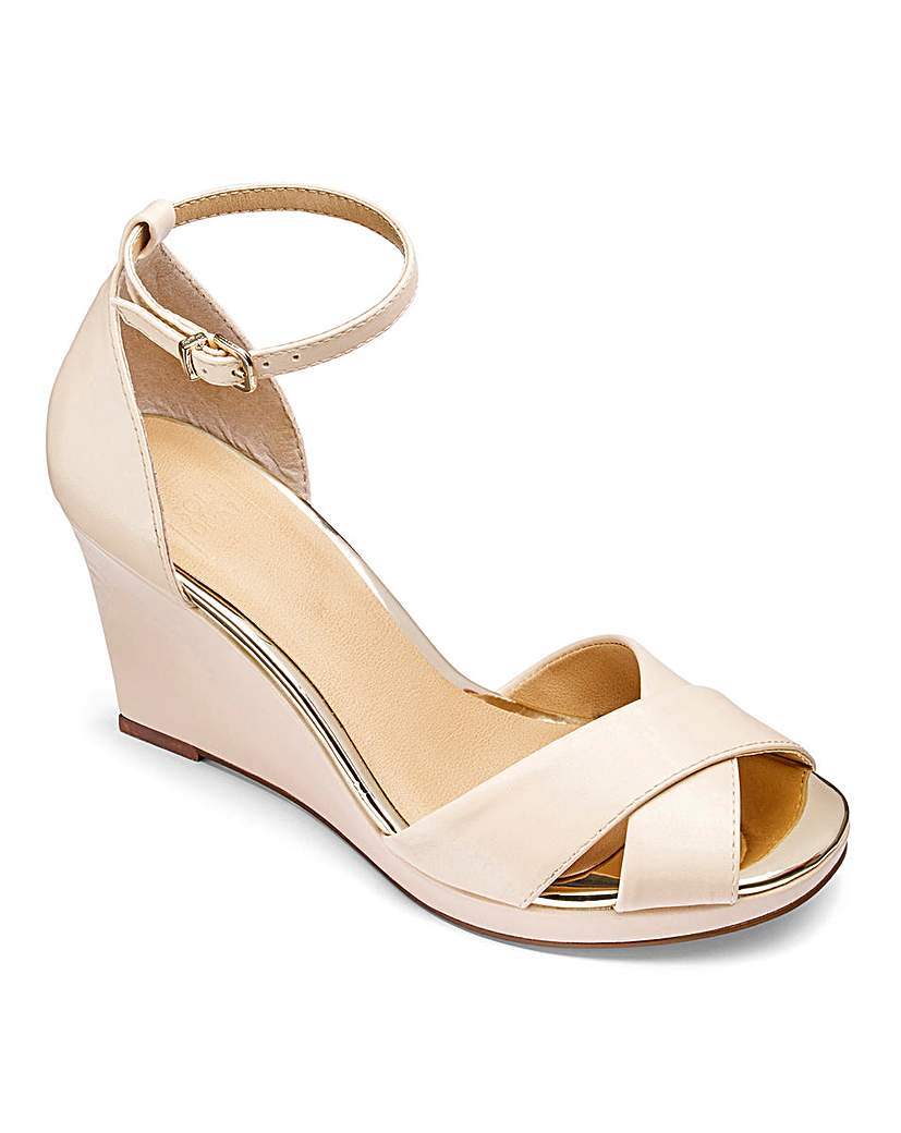 Image of Sole Diva Jas Slim Wedge Sandal E Fit