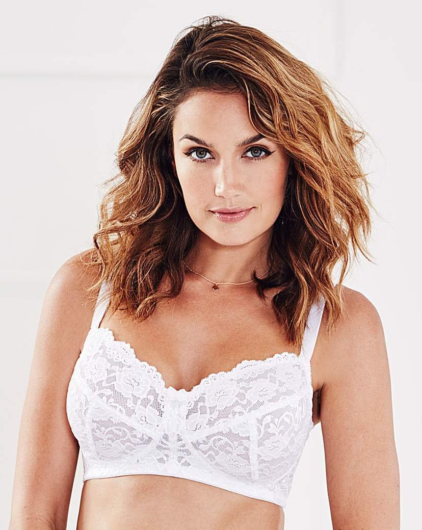 Image of 2 Pack Back Smoothing White Bras