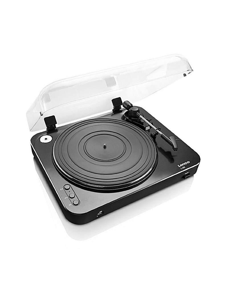 Image of Lenco L-85 USBDirect Record Turntab-Blk