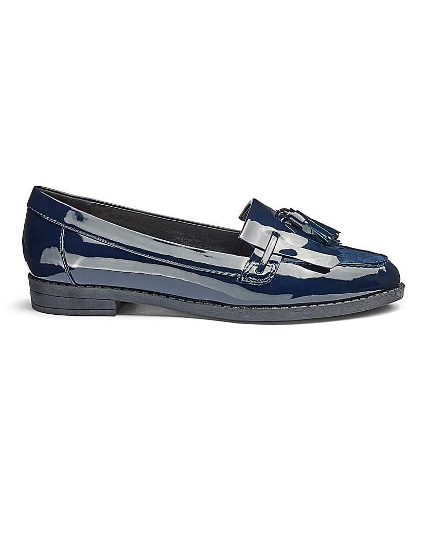 Heavenly Soles Tassel Loafers EEE Fit.