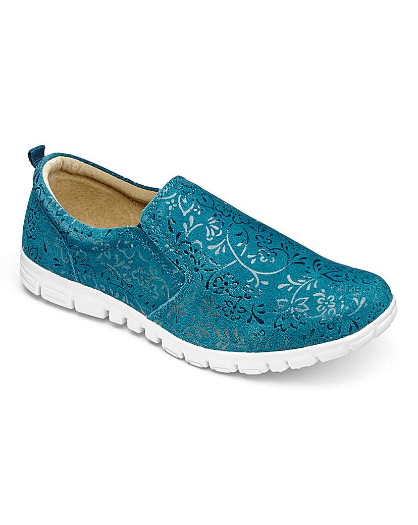 Cushion Walk Suede Shoes E Fit