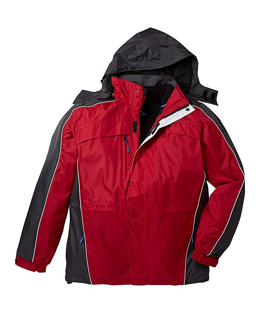 Product photo of Snowdonia red 3 in 1 jacket