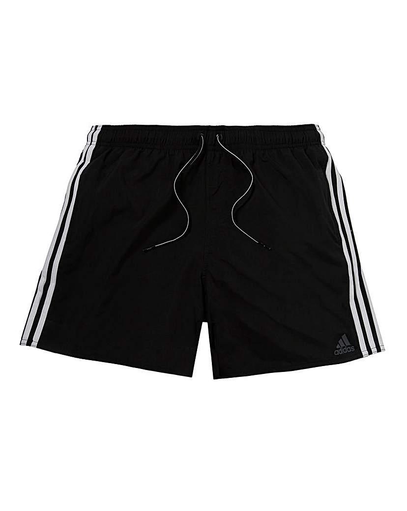 Image of adidas 3 Stripe Swim Shorts