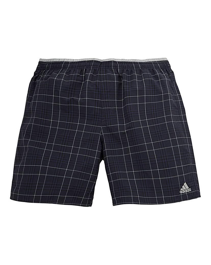 Image of adidas Check Swim Shorts