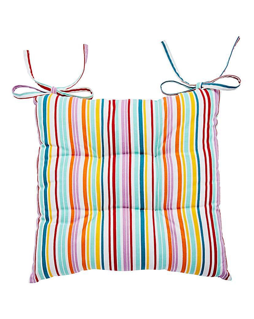 Candy Stripe Cushion Seat Pad