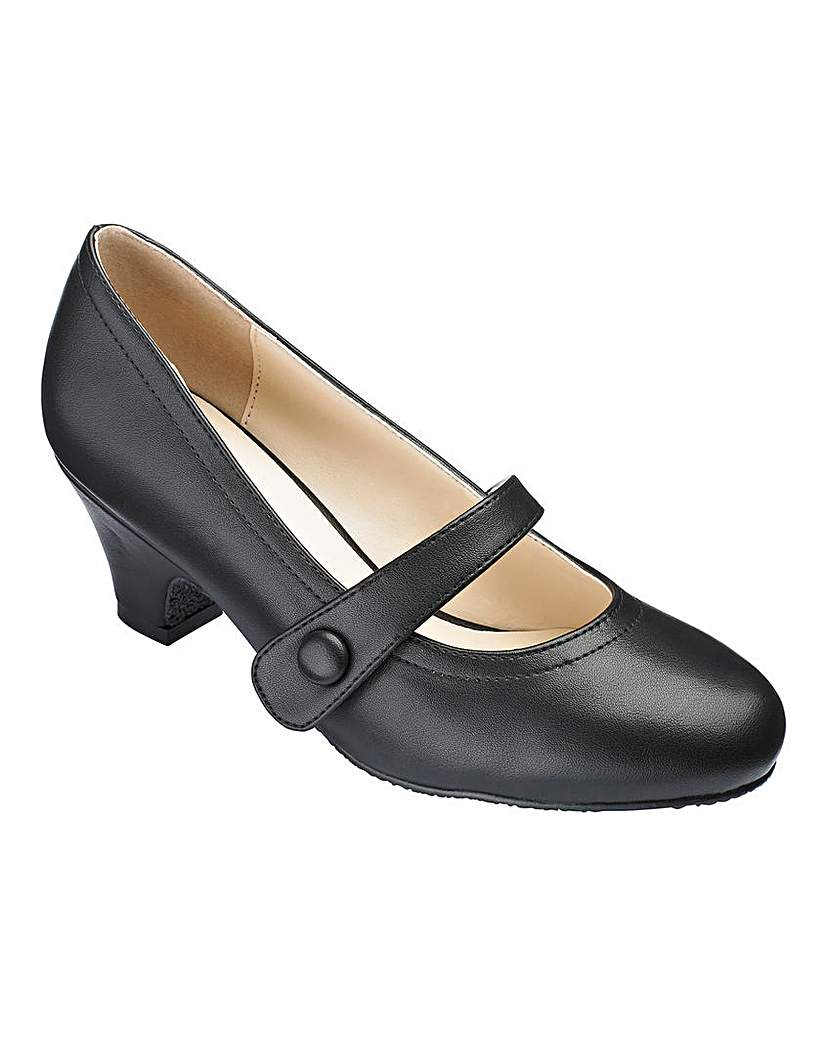 Heavenly Soles Mary Jane Shoes EEE Fit £25.00 AT vintagedancer.com