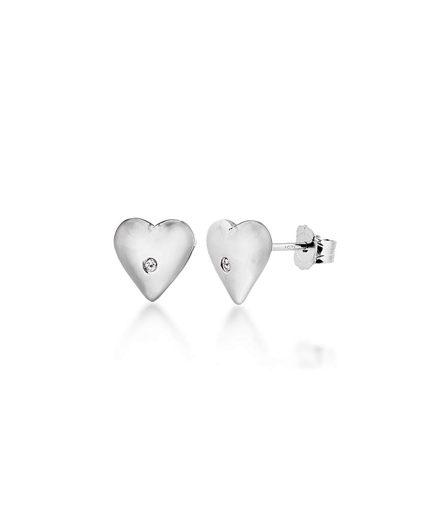 Lily & Lotty Belle Small Heart Studs