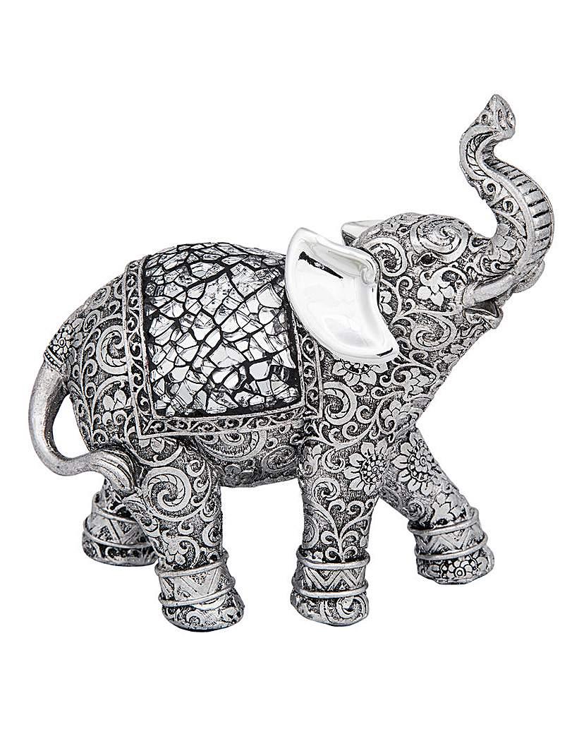 Silver Etch Elephant