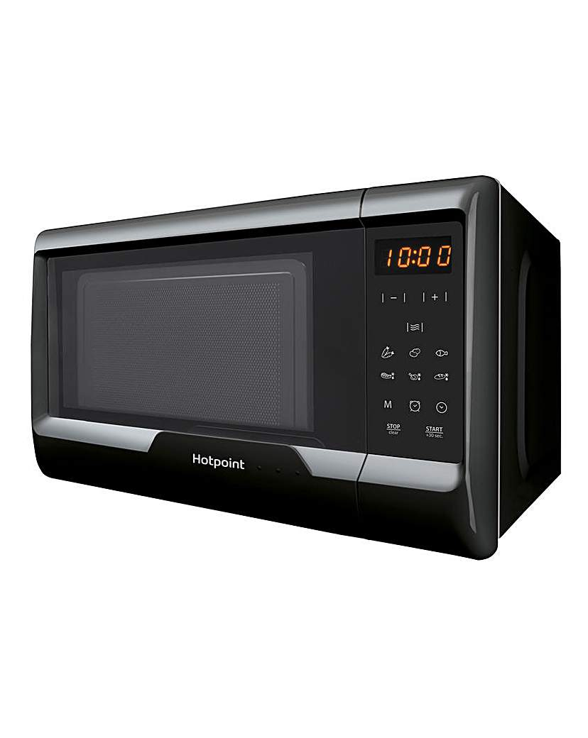 Hotpoint 20L Compact Black Microwave