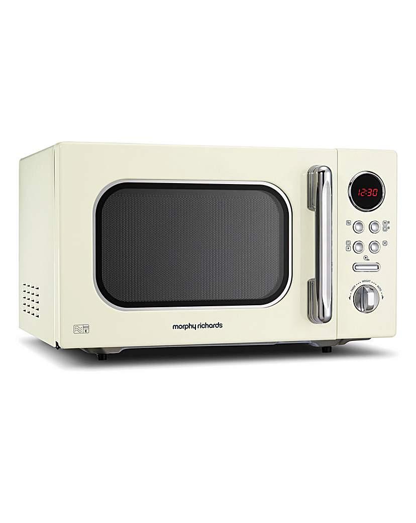 Morphy Richards 23L 800W Cream Microwave
