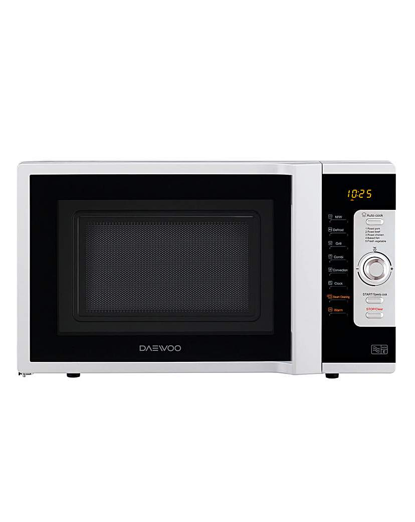 Image of Daewoo 28L 3in1 Combi White Microwave
