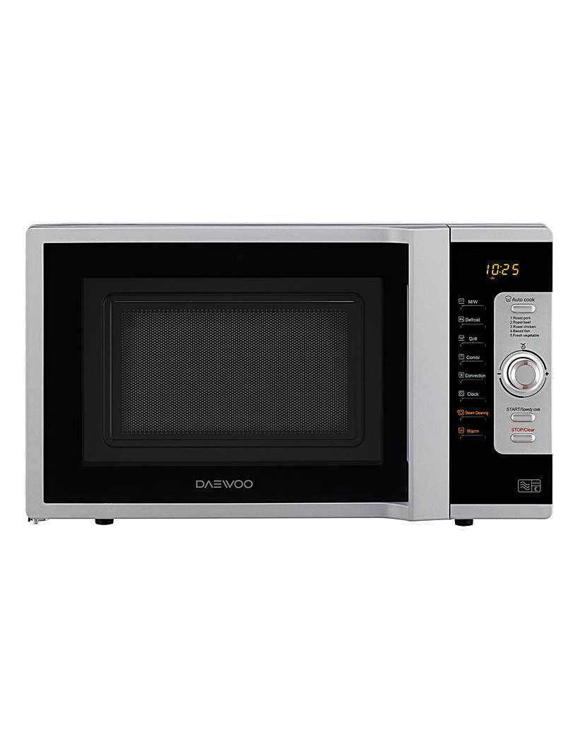 Image of Daewoo 28L 3in1 Combi Silver Microwave