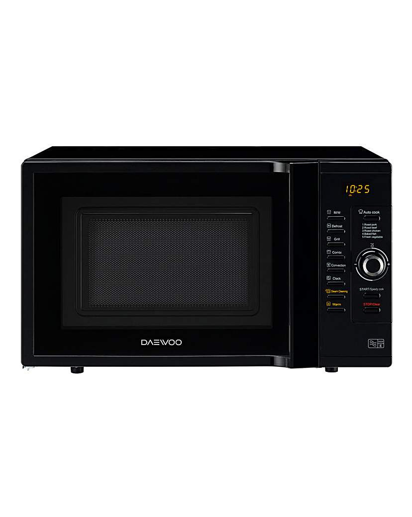 Image of Daewoo 28L 3in1 Combi Black Microwave