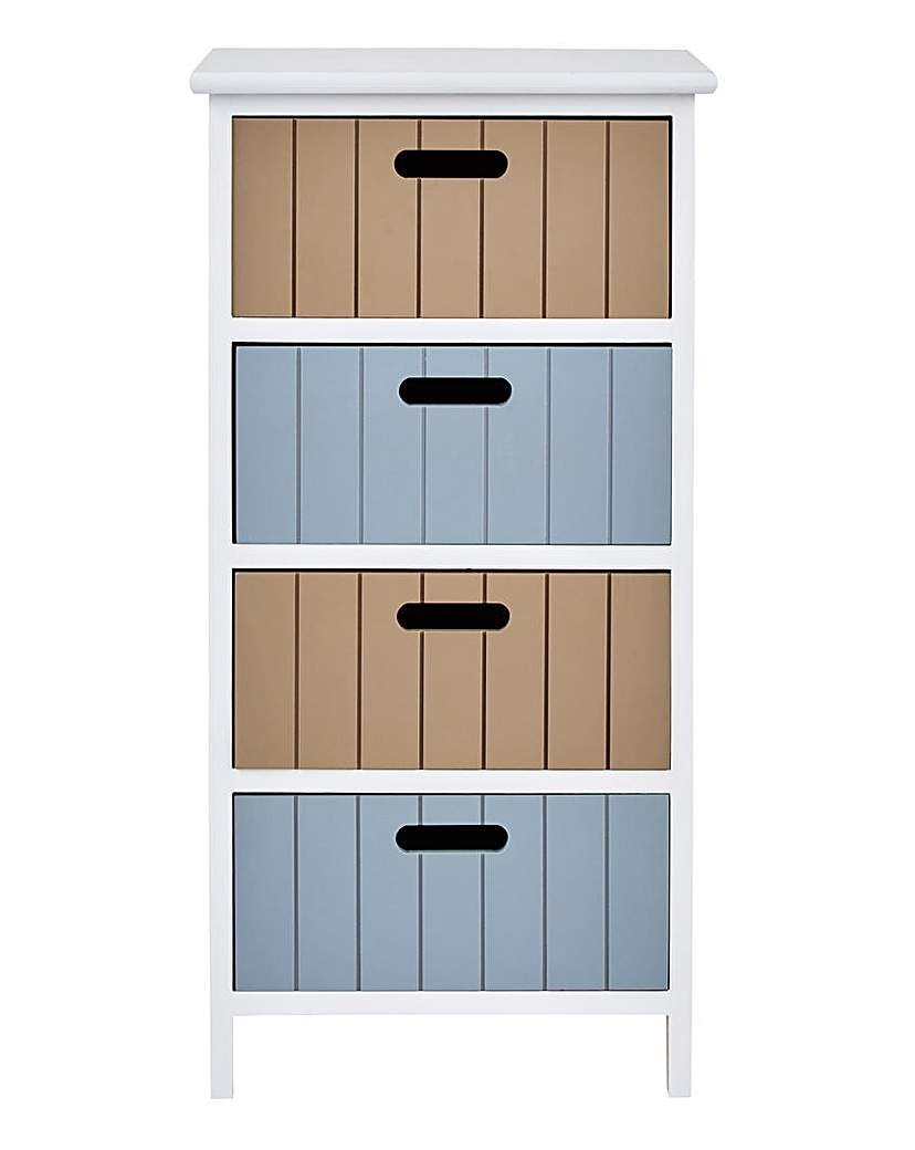 Image of Harbour 4 Drawer Unit