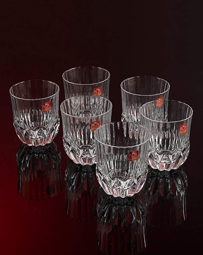 RCR Crystal Adagio Whisky Tumblers