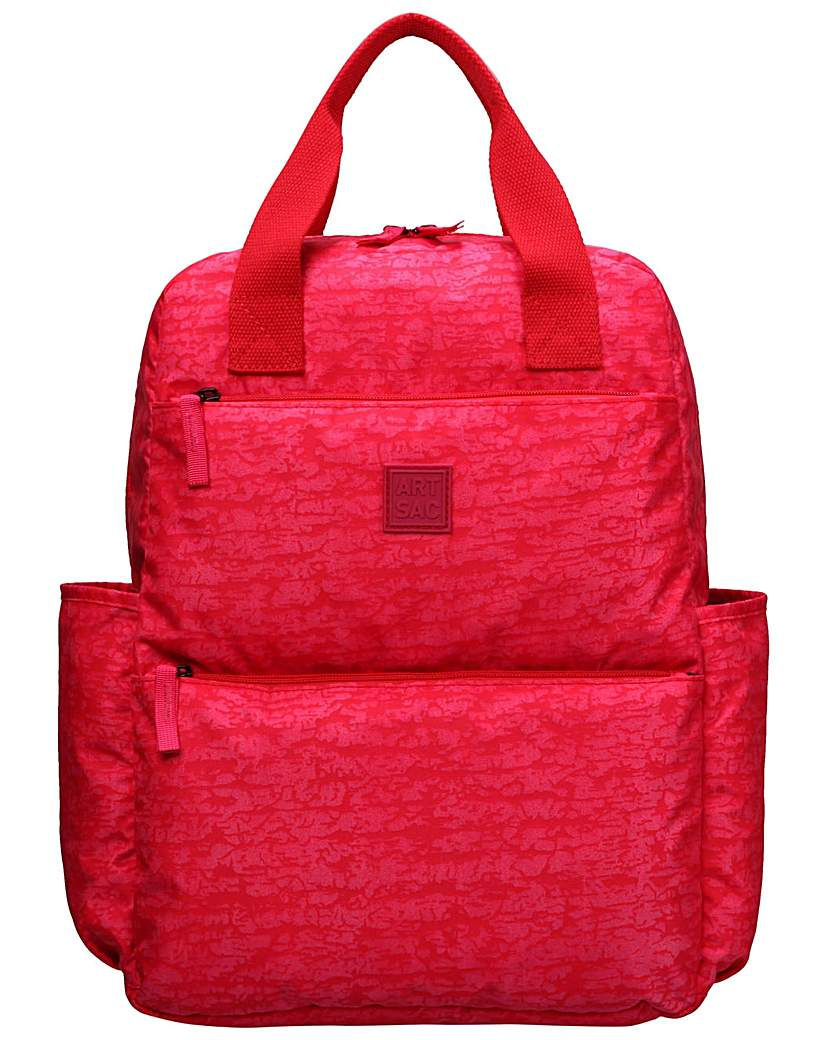 Image of Artsac Larger Backpack - Reef Fabric