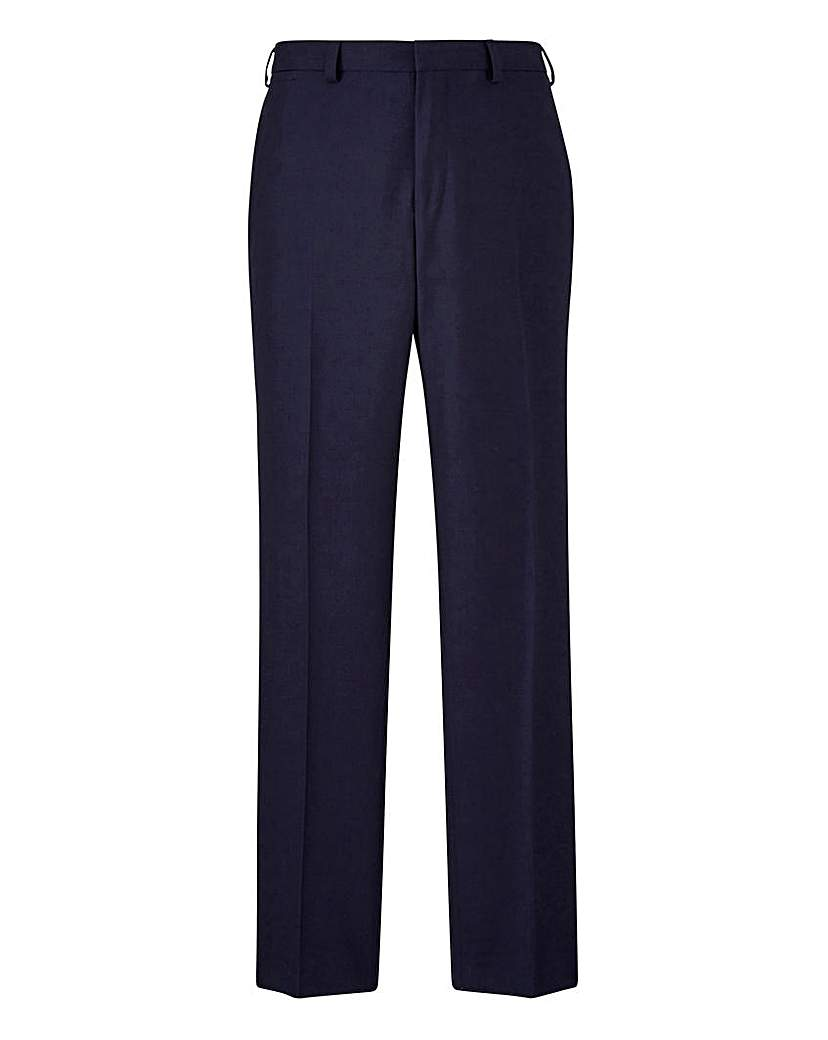 Burton London French Navy Suit Trousers at Jacamo