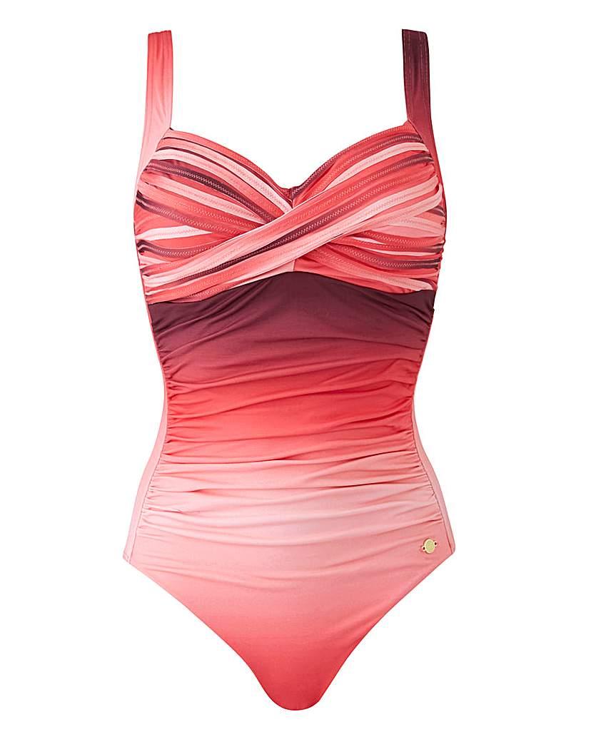 Sunseeker Ombre Twist Swimsuit
