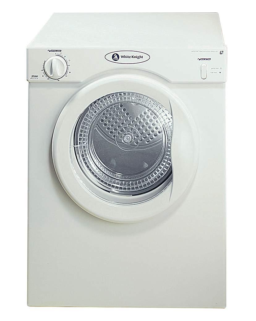 White Knight Reverse 3Kg Dryer - White