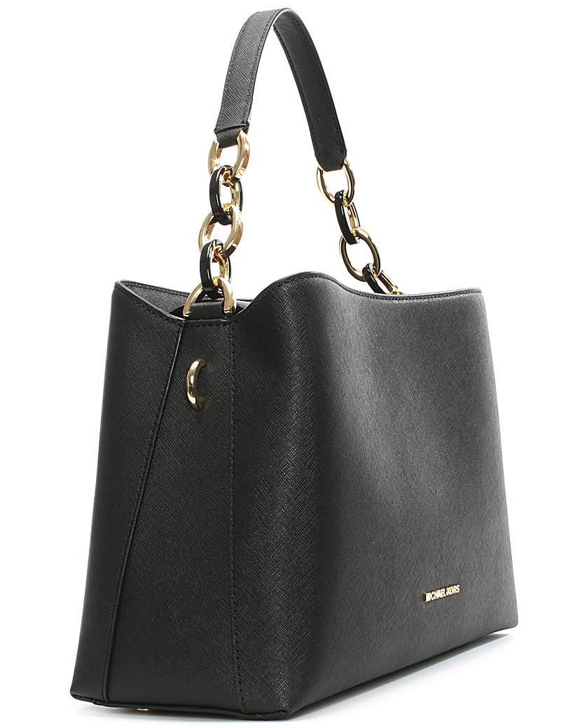 70% Off Michael kors selma medium saffiano leather satchel ...
