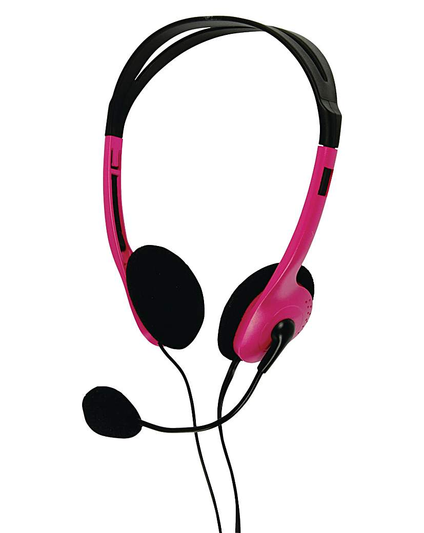 Headset with Built-In Microphone