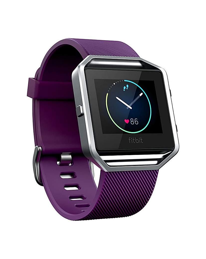 Fitbit Blaze Smart Watch - Plum Small