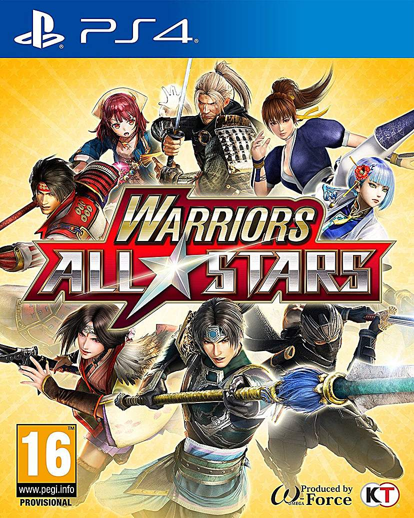 Warriors All Stars PS4