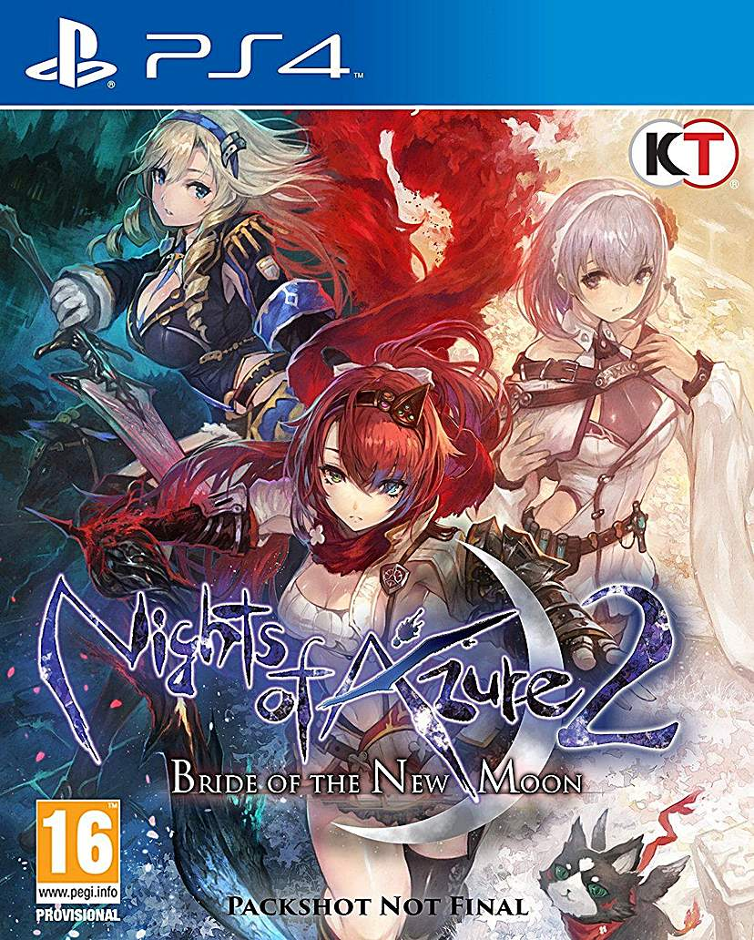 Nights of Azure 2 PS4