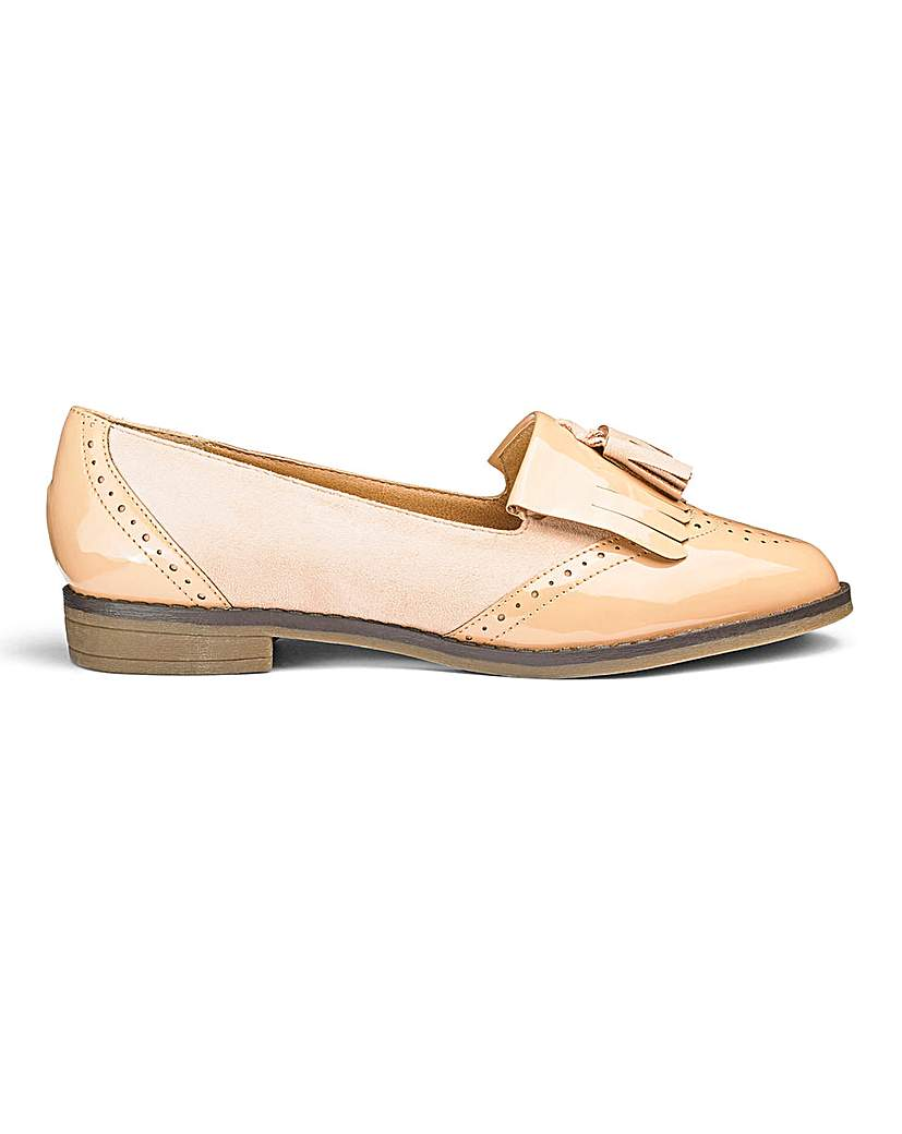 Sole Diva Tassel Loafers EEE Fit.