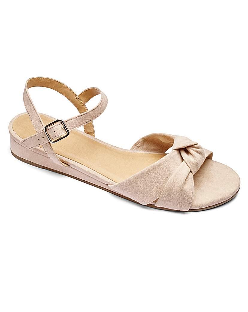 Sole Diva Violet Knot Sandal E Fit