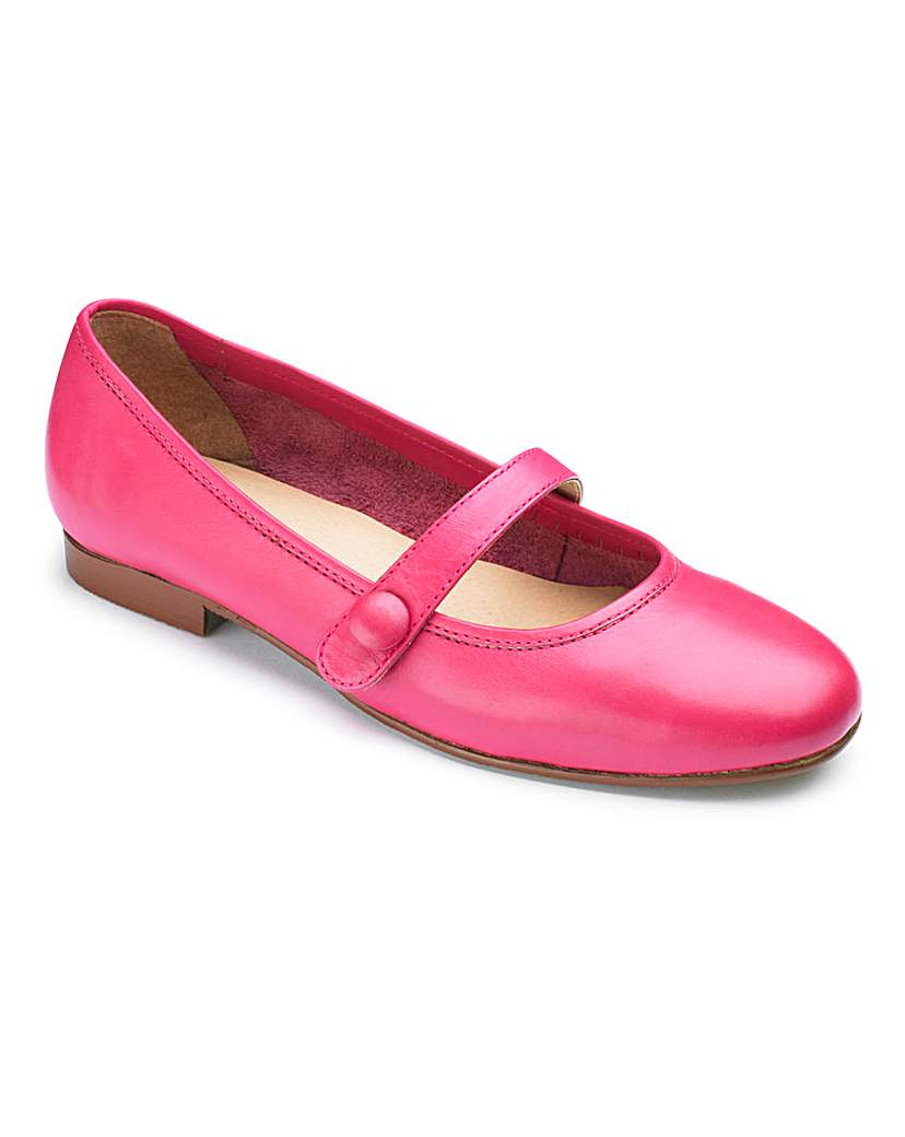The Shoe Tailor Bar Ballerina Shoes E