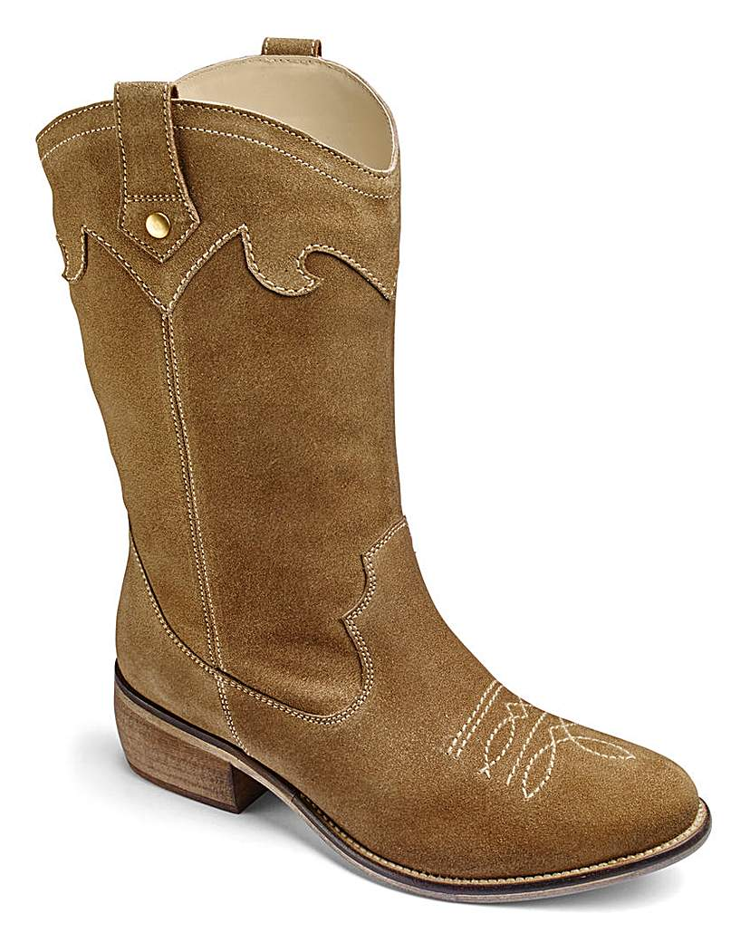 Heavenly Soles Western Boots EEE Fit