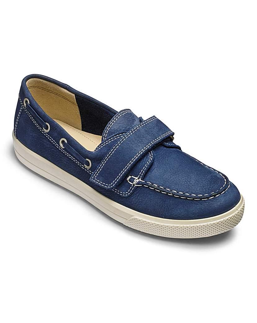 Hotter New Caspian Boat Shoes E Fit