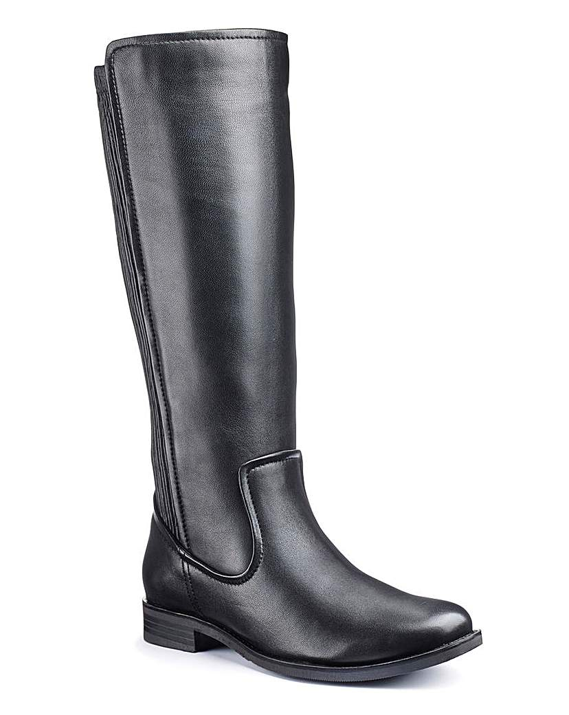 Legroom High Leg Boots E Fit Super Curvy