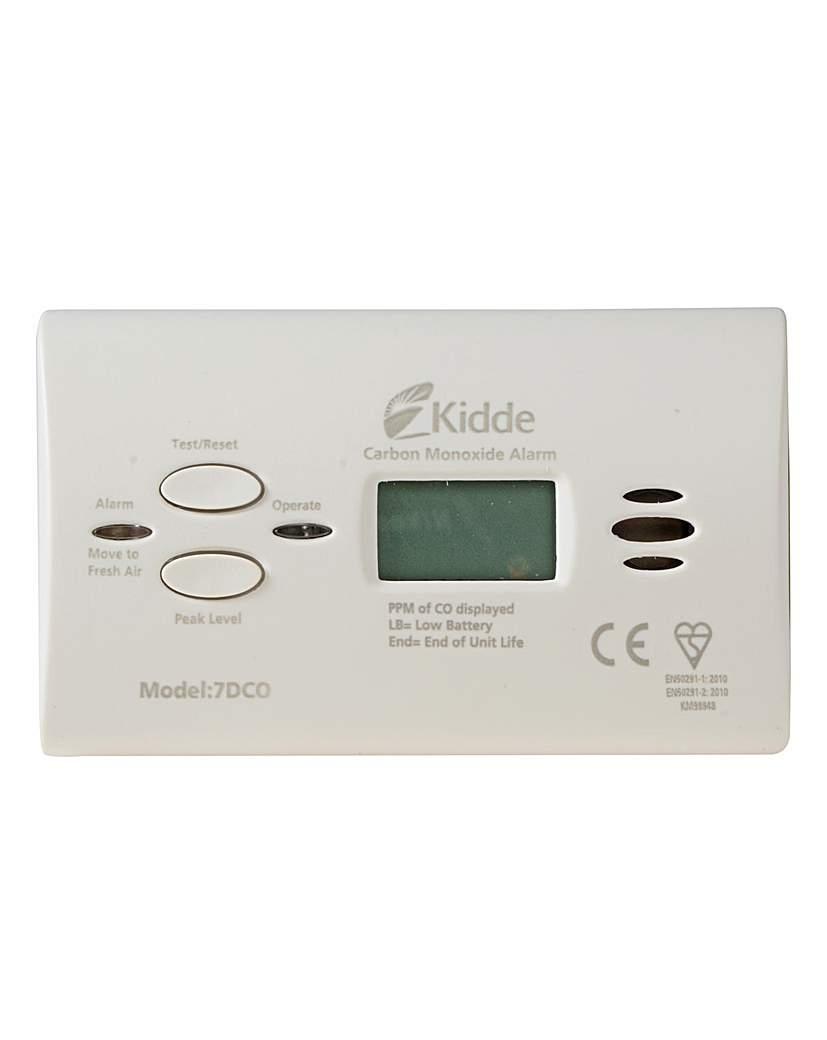 Carbon Monoxide Alarm Digi 10yr Sensor