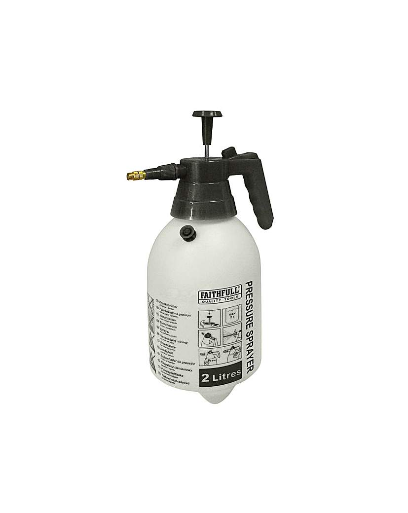 Pressure Sprayer Hand Held 2 Litre