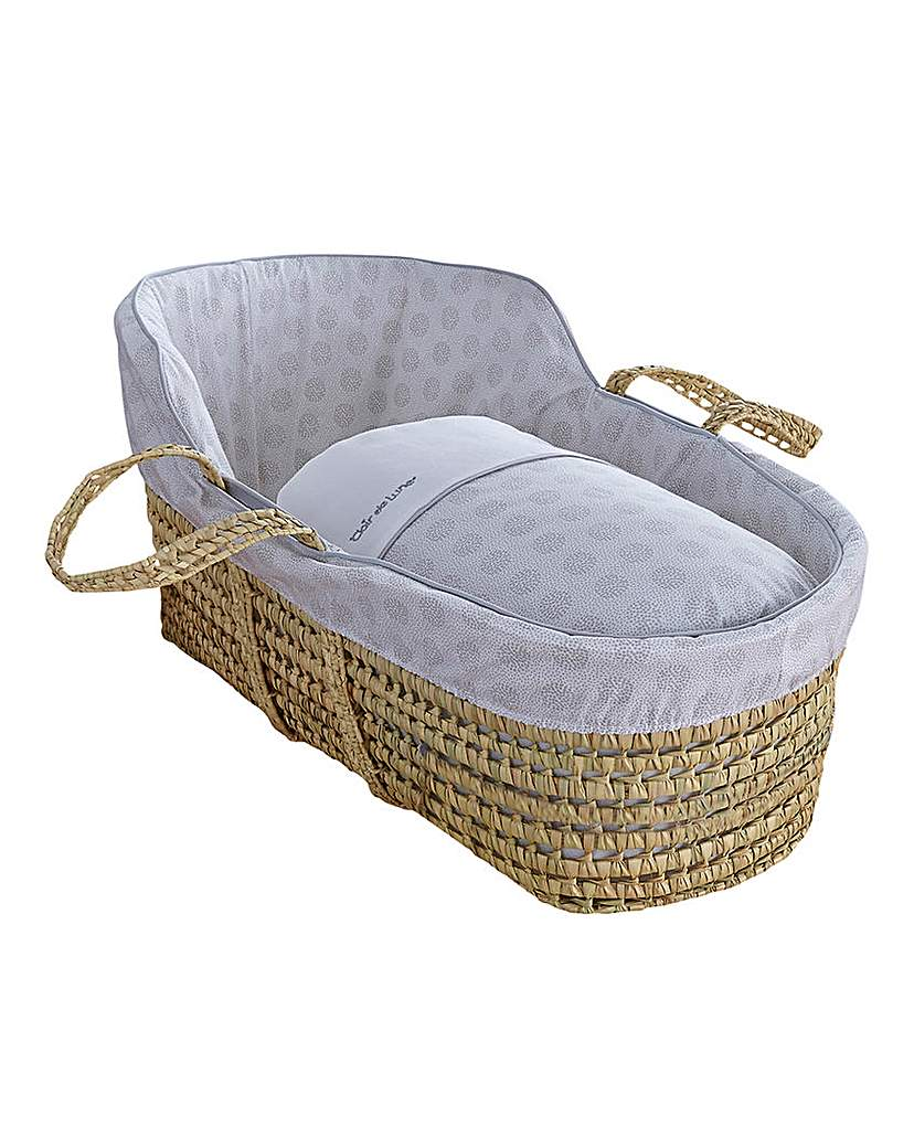 Clair De Lune Speckles High Moses Basket