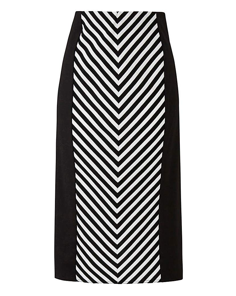 Scarlett & Jo Mon Striped Skirt.
