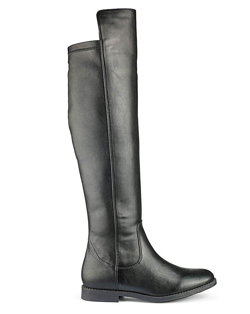 Sole Diva Boots Super Curvy E Fit