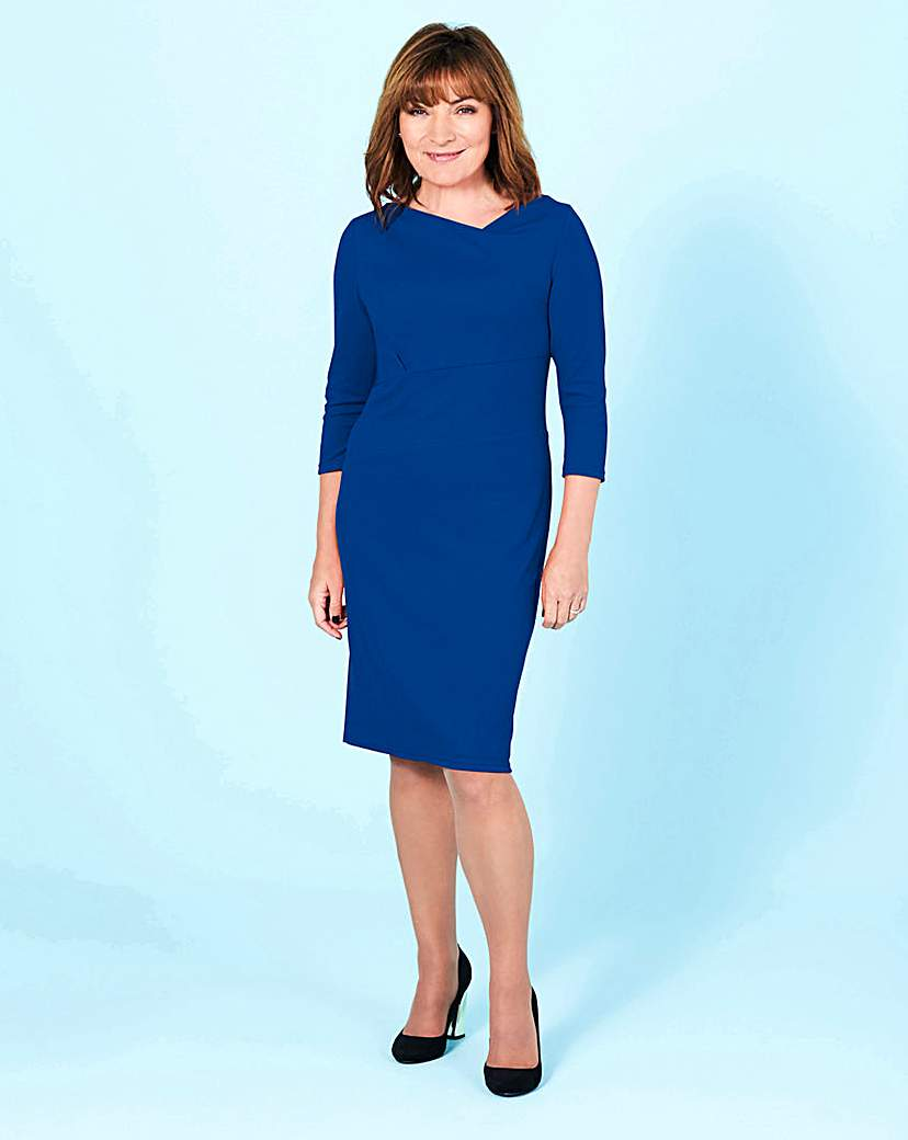 Lorraine Kelly Textured Bodycon Dress.