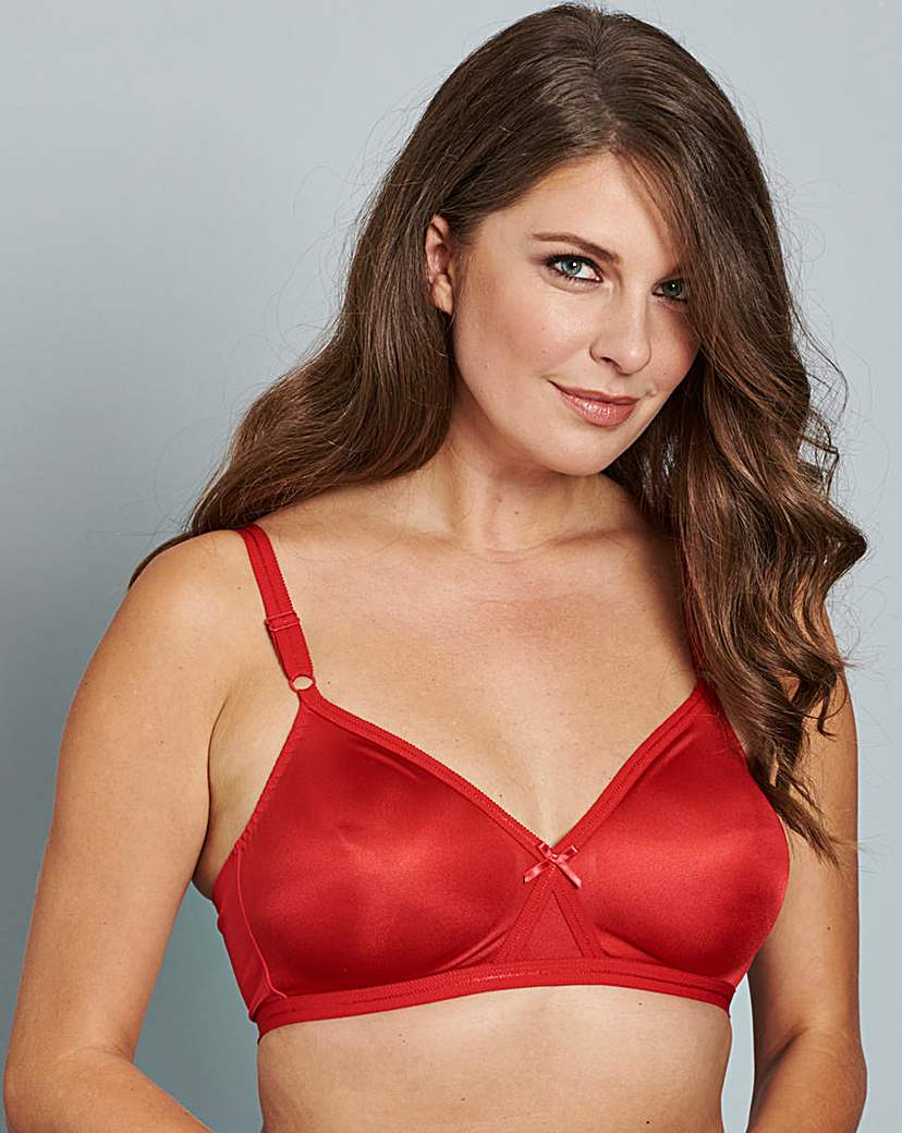 2 Pack Claire Non Wired Red/Blush Bras