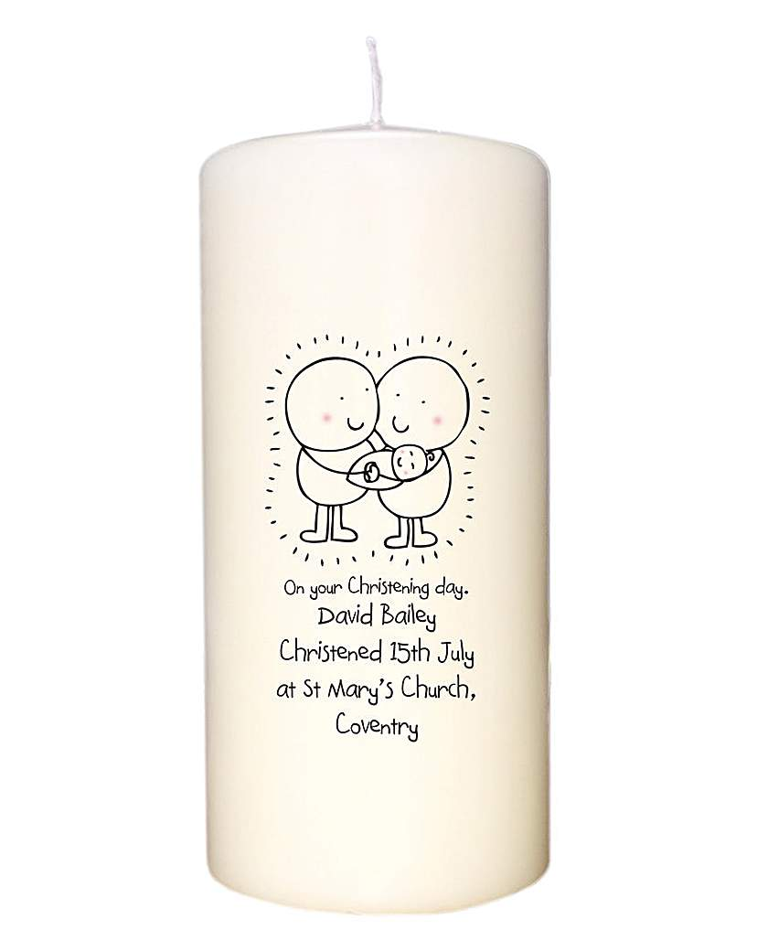 Image of Chilli & Bubbles Personalised Candle